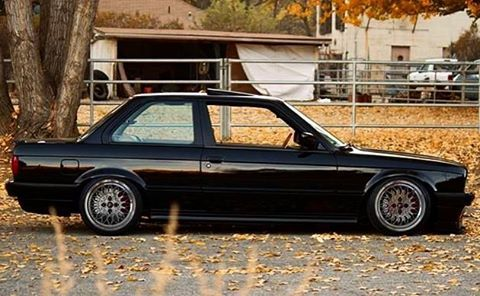 #bmw #e30 #m3 #low #black #germanstyle #german #poland #polish #performance #bmwpolska #bmw3 #coupe #rims #motorsport #my_car_style