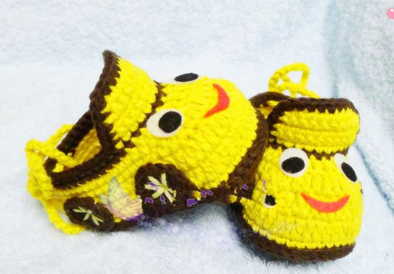 Yellow Baby Booties, Baby Boots, Crochet Baby Booties, Baby Crochet Booties,Unisex Infant Booties, Boots for babies, Newborn baby Gift by EniceChicBaby on Etsy
