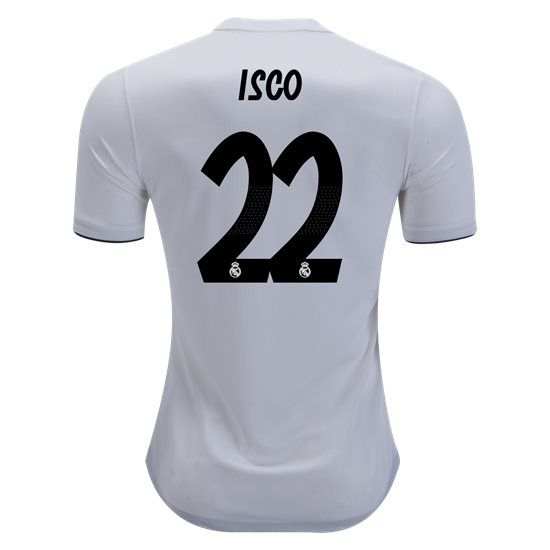 2018 2019 Isco Jersey Number 22 Home Authentic Men S Real Madrid Team Isco Real Madrid Real Madrid Shirt Isco