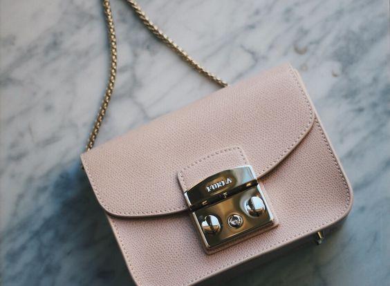 Furla Metropolis bag powder pink