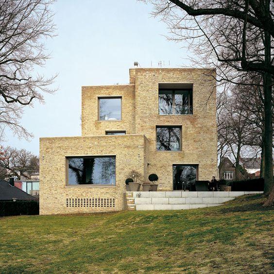 david chipperfield, Private House Blankenese, Hamburg