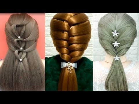 30 Peinados Faciles Rapidos Con Trenzas Para Ninas Peinados De Moda 2019 Cabello Youtube Hair Styles Hair Tassel Necklace