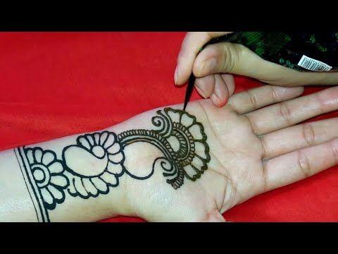 Simple Arabic Henna Design Easy Simple Mehndi Arabic Mehndi