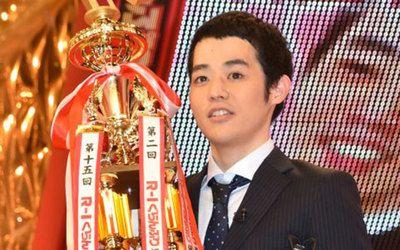 Rー1で優勝した濱田祐太郎さん
