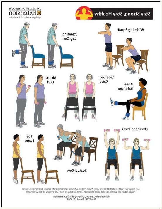 View Source Image Chair Exercises Senior Fitness How To Stay Healthy