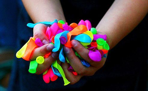 Fluor ballons
