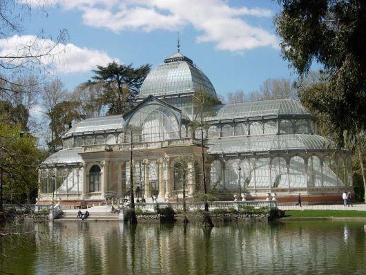 Palacio de Cristal. Madrid. España.