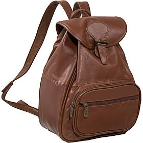 AmeriLeather Ladies' Leather Backpack  - Brown - via eBags.com!