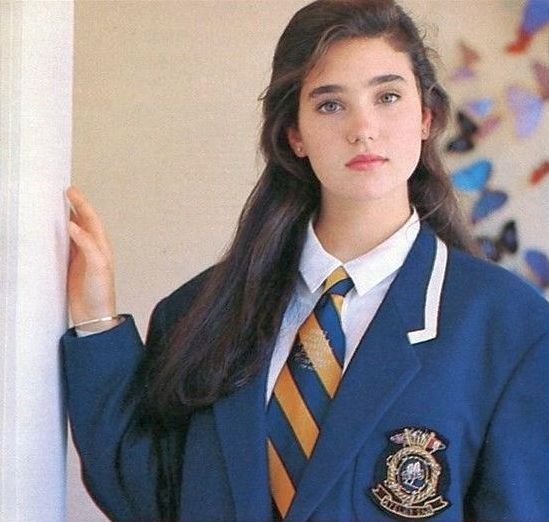 Young Jennifer Connelly (549 x 522)