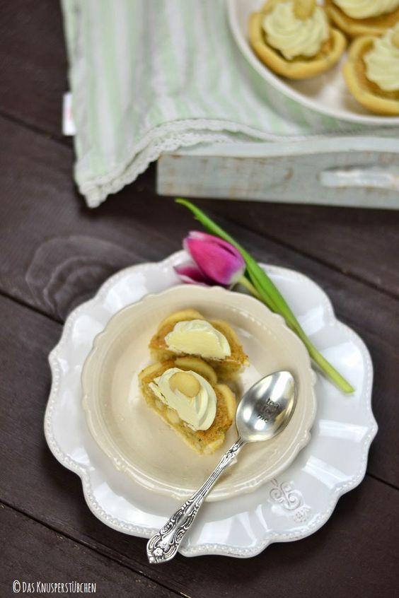 Macadamia Karamell Shortbread Törtchen | Das Knusperstübchen