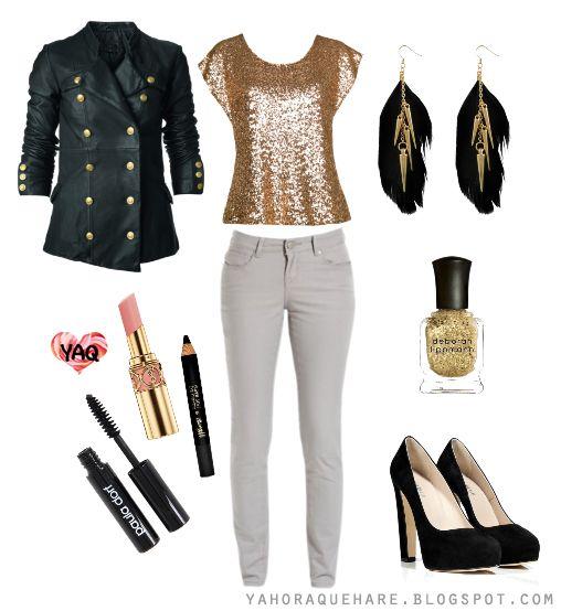 Y. A. Q. - Blog de moda, inspiración y tendencias: [Y ahora qué me pongo con] Un pantalón gris claro