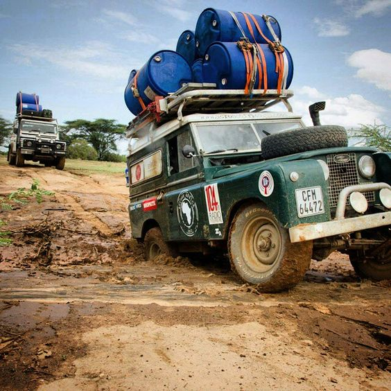Land Rover. Across Africa. Series Land Rover