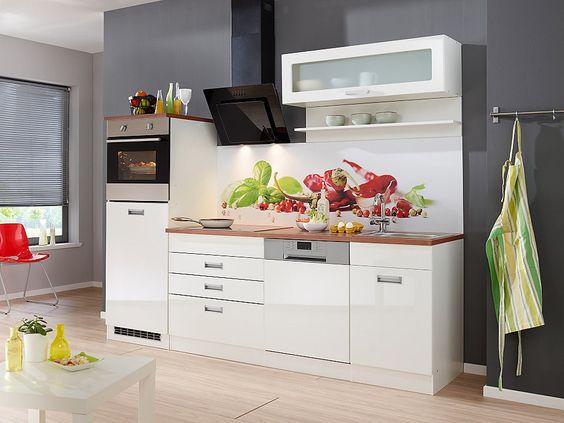 Küchenzeile »Ahus«, Breite 220 cm Jetzt bestellen unter   - küchenzeile 220 cm mit elektrogeräten