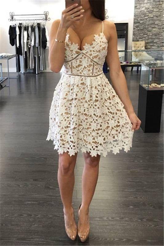 Vestido de Alcinha Rendado - Ref.746 - DMS Boutique
