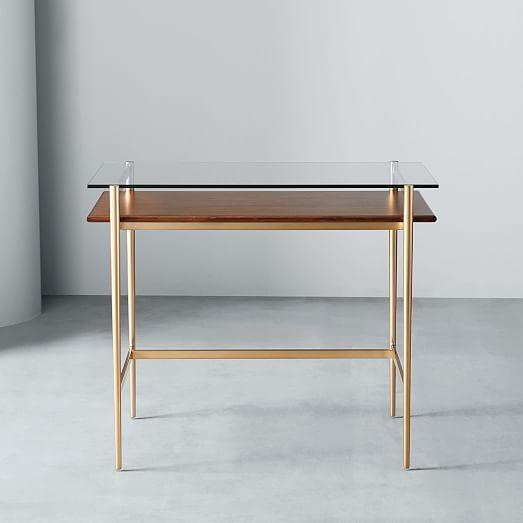 Mid Century Art Display Mini Desk Affordable Office Furniture Mini Desk Furniture