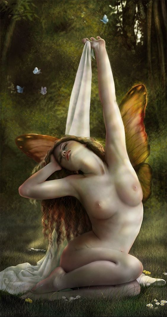 Wonderful fairy up in the morning - Pin it by GUSTAVO BUESO-JACQUIER