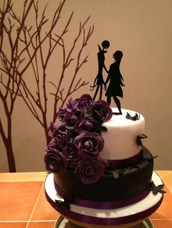 nightmare before christmas wedding cake ideas nightmare before before and cakes on 17891