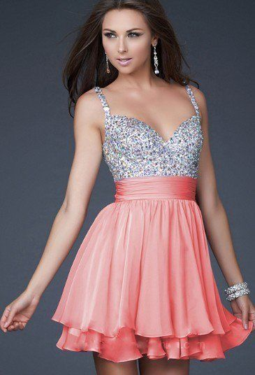 LaFemme Coral dress
