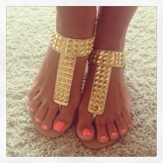 i can't wait for sandals, neon nail polish & being tan ...
