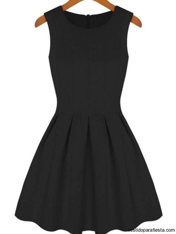 Vestidos cortos de moda juvenil 2014 – 04