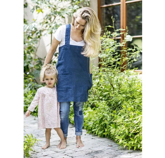 Also available in children sizes. A pinafore is like an apron but better. I love…