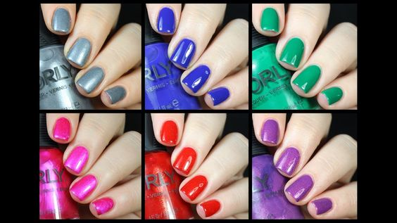Orly Sunset Strip Collection Live Swatch + Review!