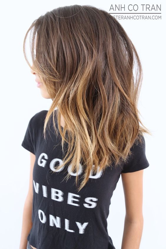 GOOD VIBES, GREAT HAIR. Cut/Style: Anh Co Tran • IG: @anhcotran • Appointment inquiries please call Ramirez Tran Salon in Beverly Hills at 310.724.8167.