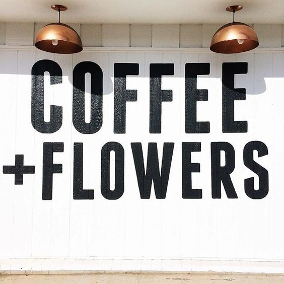 Gingerly Witty Friday LinkFest coffee flowers forecast