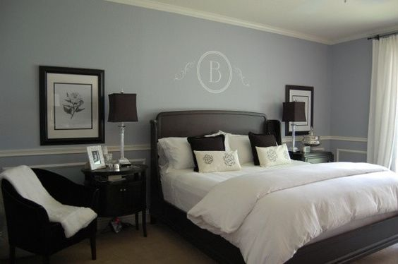 Master Bedrooms Masters And Blue Colors On Pinterest