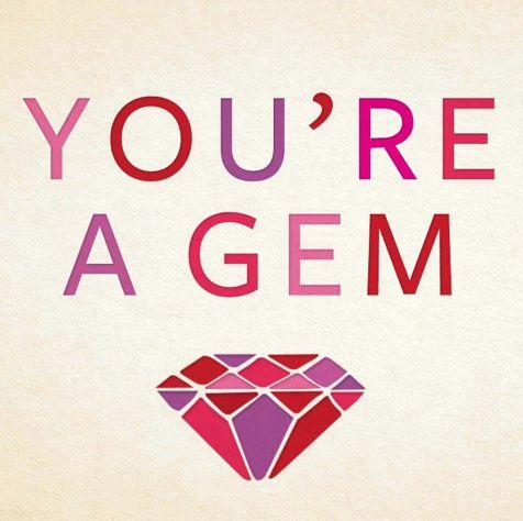 you're a gem valentine