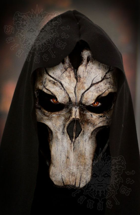 Death Darksiders Mask Pinterest • T...