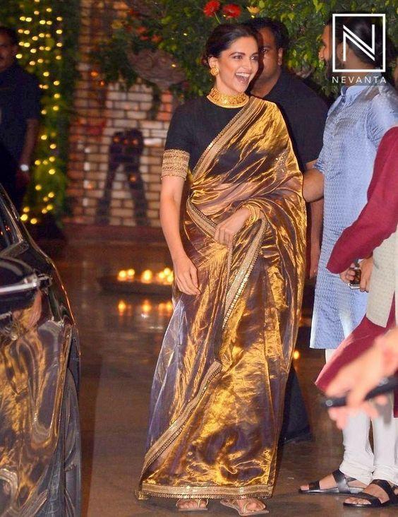 7 Blouse Designs Which Will Leave You Mesmerized Sabyasachi Sarees Saree Trends Deepika Padukone Saree