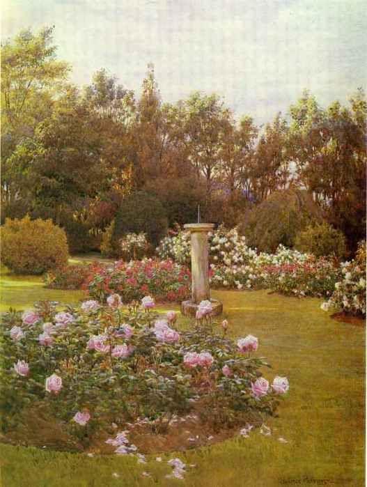 Rose Garden Beatrice Emma Parsons Jardin Anglais Les Plus Beaux Jardins Art Des Jardins