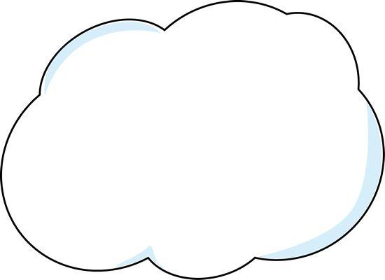 fluffy cloud clip art � cliparts