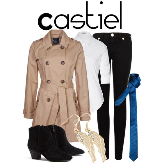 """""""Castiel"""" by nerdgirl2therescue on Polyvore"""