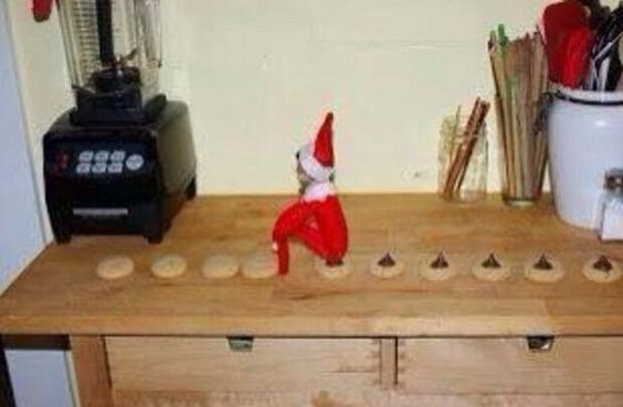 Elf on the Shelf | The Lone Girl in a Crowd