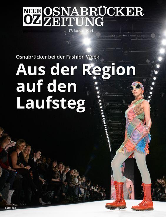 Bei der Berliner Fashion Week läuft auch ein Model aus der Region über den Laufsteg. Mehr dazu lesen Sie in unserer Abend-App. Infos unter www.noz.de/abo