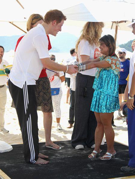 Prince Harry Photos - Prince Harry takes part in a race in Flamengo park, Rio de Janeiro - Zimbio