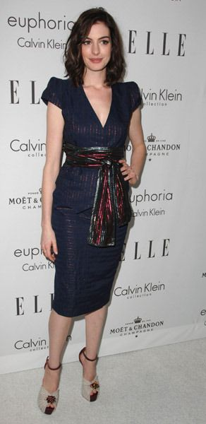 The House of Fabulous: Red Carpet Icon: Anne Hathaway