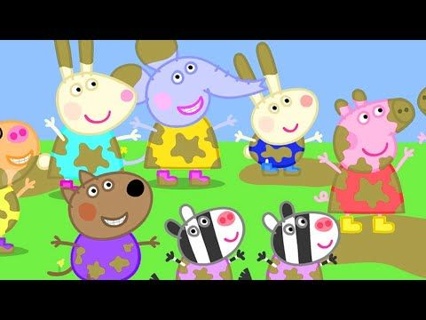 Kids Videos Peppa And The Golden Boots New Peppa Pig Youtube Videos Peppa Peppa Pig Games Peppa Pig Videos