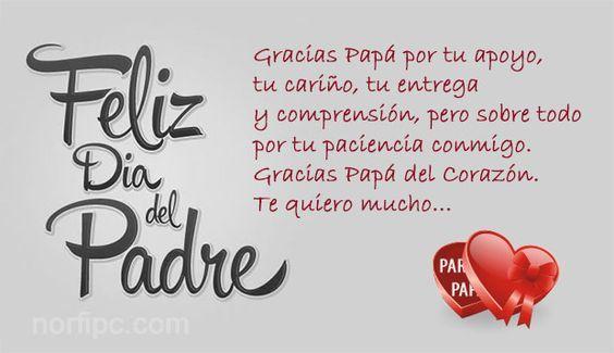 90 Imagenes Con Frases Y Mensajes Para Felicitar El Dia Del Padre