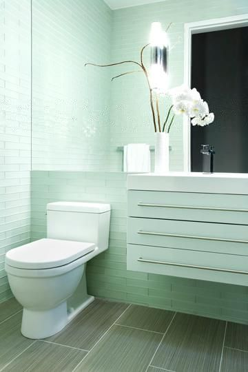 Flow Bars #glass #tile Bathrooms Pinterest Glass subway tile