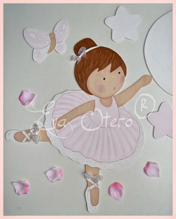 bailarina Moldes - Desenhos - Pinterest