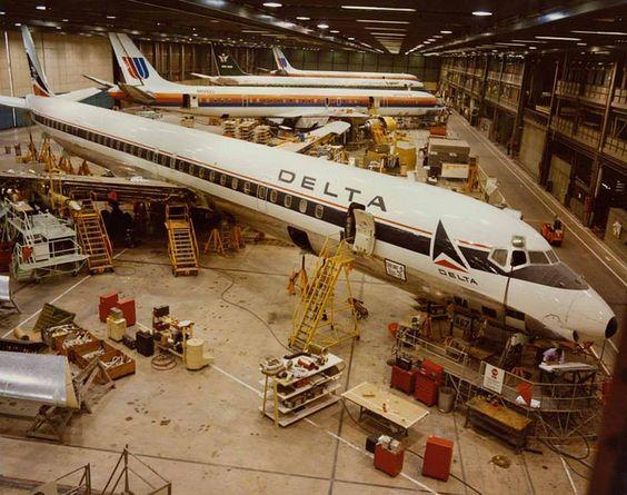 Delta Air Lines Douglas DC-8-61 - Flickr - Photo Sharing!