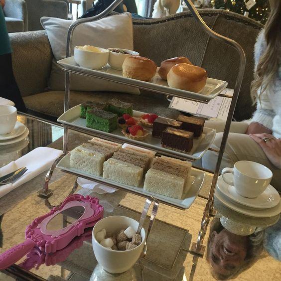 high tea at @Mottram_hall_weddings