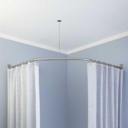 Shower Curtain Rods For Corner Shower Stalls Neo Angle Shower