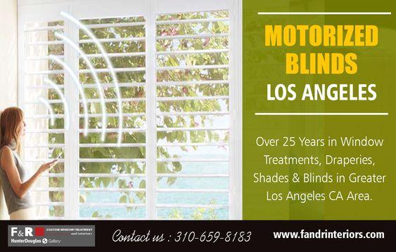 Motorized blinds Los Angeles