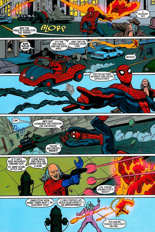 Spider-Man/Human Torch #3 Writer: Dan Slott Illustrators: Ty Templeton (Pencils), Nelson (Inks) & Tom Palmer (Inks)