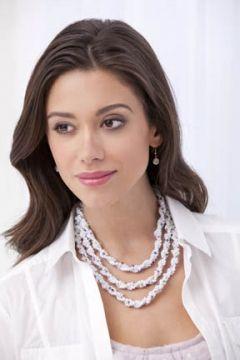 Knitted Necklace - la perla