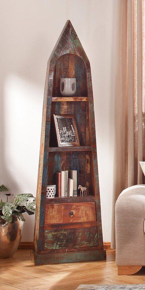 Sit Bootsregal Riverboat Hohe 190 Cm Fur 529 99 Extravagantes Design Fsc Zertifiziertes Massivholz 2 Schubkasten 2 Boden Boot Regal Bootsregal Regal